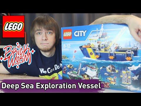 LEGO City: Deep Sea Exploration Vessel - Brickworm