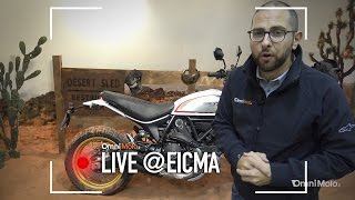 Ducati Scrambler Desert Sled a EICMA 2016