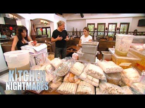 Ramsay Uncovers Over $12,000 of FROZEN Food!   Kitchen Nightmares