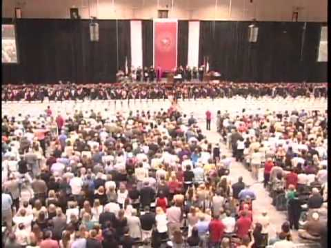 North Central's Class of 2011's graduation procession.