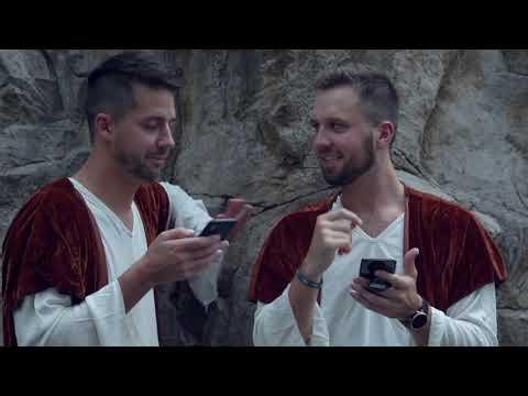 If Bible Characters had iPhones