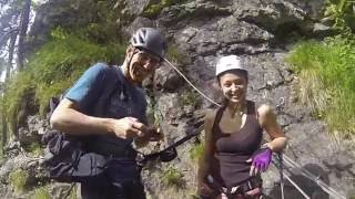 Champery Switzerland  city photos : Via Ferrata Champery Switzerland 2016