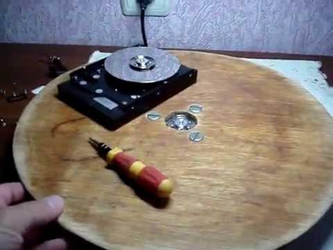 Поворотный стол для торта своими руками