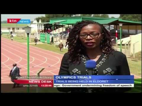 Olympics trials set to take place at the Kipchoge Keino Stadium in Eldoret