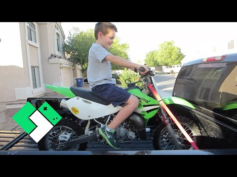 NEW DIRT BIKE FOR BRYCE (7.7.14 - Day 829)