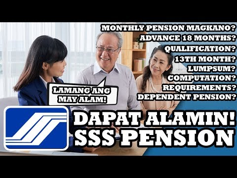 SSS RETIREMENT PENSION BENEFIT ALAMIN! | SOCIAL SECURITY SYSTEM