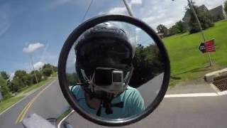 10. 2014 Honda Shadow Aero 750 Test Drive review
