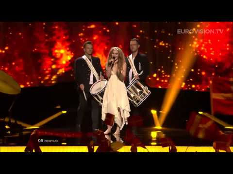 Image of ESC Winner 2013: Emmelie de Forest - Only Teardrops (Denmark) - LIVE - 2013 Semi-Final