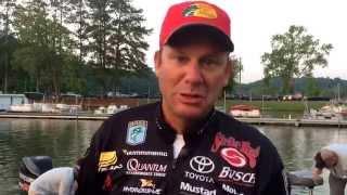 Chickamauga Lake day 4 KVD video update