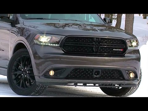 2015 Dodge Durango R/T Blacktop – TestDriveNow.com Review by Auto Critic Steve Hammes
