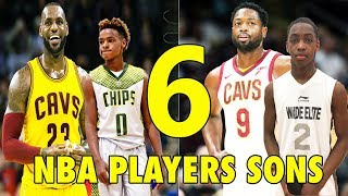 Video 6 NBA Players SONS who will be BETTER than their FATHERS! MP3, 3GP, MP4, WEBM, AVI, FLV April 2019