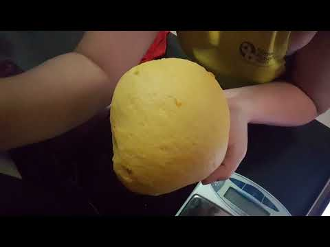 The Noob Cook: Pumpkin Steamed Buns With Azuki Red Bean Paste 金瓜馒头 (红豆馅)