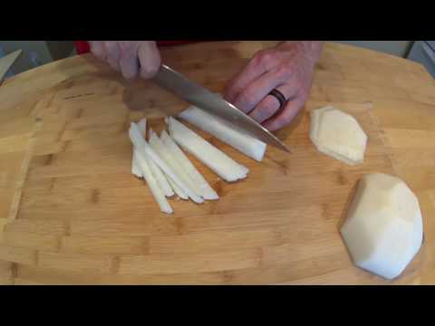 The Everyday Chef: How To Peel & Cut Jicama