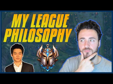 My League Philosophy - How To Improve In Solo Queue - Tips For Controlling Your Mentality