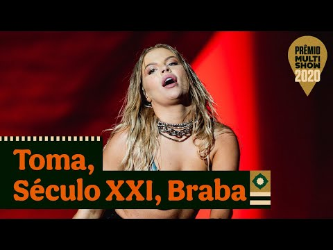Luísa Sonza part. MC Zaac - Toma, Século 21 e Braba | Prêmio Multishow 2020