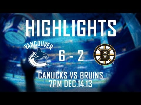 Canucks - Jannik Hansen, David Booth, Chris Higgins, Yannick Weber, Henrik Sedin and Chris Tanev all scored as the Canucks beat the Boston Bruins 6-2 in Vancouver. Sub...