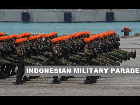 INDONESIAN MILITARY PARADE part 1