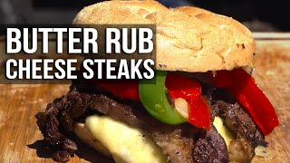 Butter Beef Cheese Steaks by the BBQ Pit Boys by BBQ Pit Boys