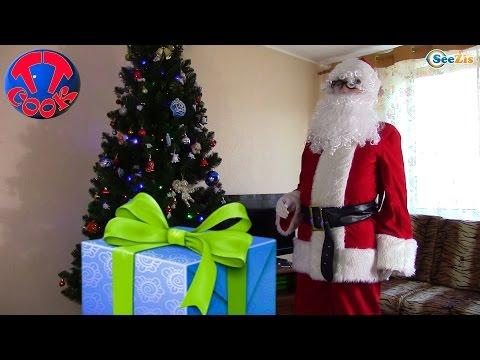 Подарки от Деда Мороза на День Святого Николая для Ярославы. A Gift from Santa Claus VLOG Tiki Taki (видео)