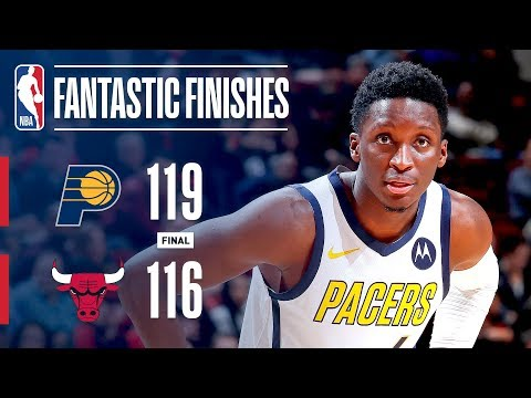 Video: The Pacers and Bulls Engage in a Fantastic Finish | January 4, 2019