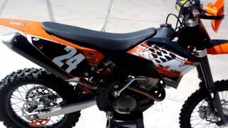 9. 2008 KTM 250 XC-F