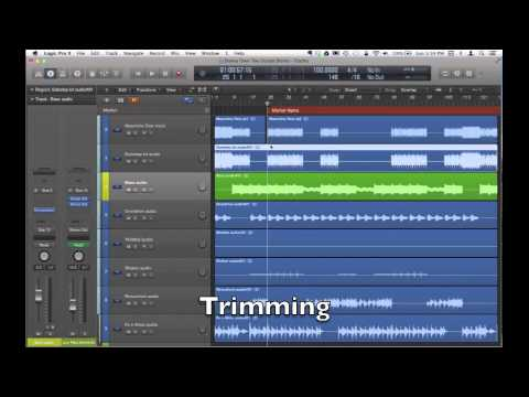 Editing tips in Logic Pro X