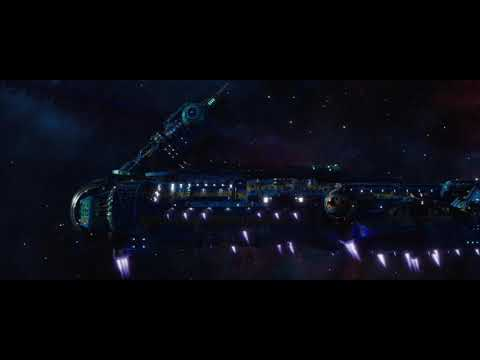 Opening Scene Infinity war (continued from Thor- Ragnarok)