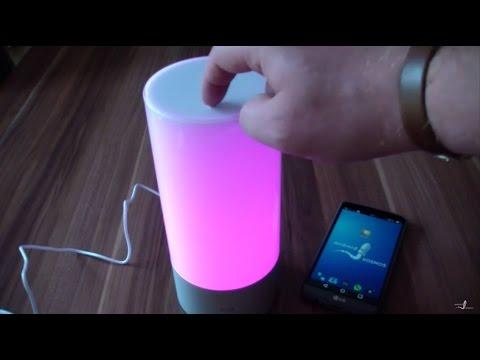 Xiaomi Yeelight Nachttischlampe mit App-Steuerung im Review/Test deutsch