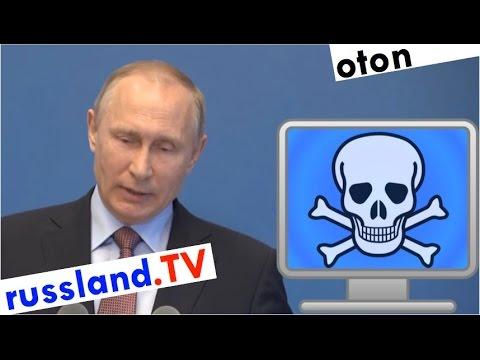 Putin zum US-Ursprung des WannaCry-Virus auf deutsch