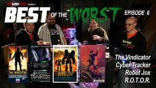 Video Best of the Worst: The Vindicator, Cyber Tracker, Robot Jox, and R.O.T.O.R. MP3, 3GP, MP4, WEBM, AVI, FLV Agustus 2018