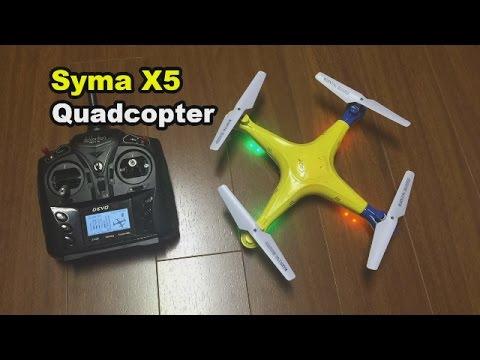 Syma X5 Explorers Quadcopter Review and mods