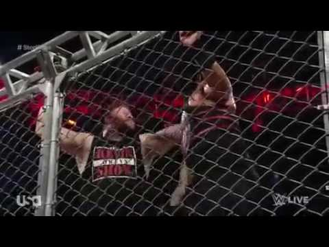 9/19/2016 Roman Reigns vs Kevin Owens - Steel Cage Match | Seth Rollins Saves Roman Reigns
