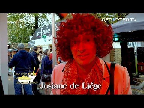 Les chroniques de Josiane de Liège:  Josiane au village Gaulois.
