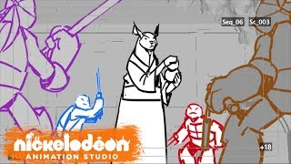 Why are the turtles the greatest mutant warriors of all time? Because they train with a true ninja master! See the heroes in a half-shell - and Casey Jones - take on Splinter in a heart-pounding training session!Subscribe for more awesome videos from Nickelodeon Animation! http://www.youtube.com/subscription_center?add_user=NickAnimationStudiosVisit NAS around the web:Official Website: http://nickanimationstudio.com/Facebook: https://www.facebook.com/NickAnimationTumblr: http://nickanimationstudio.tumblr.com/Twitter: https://twitter.com/NickAnimationInstagram: https://instagram.com/nickanimation