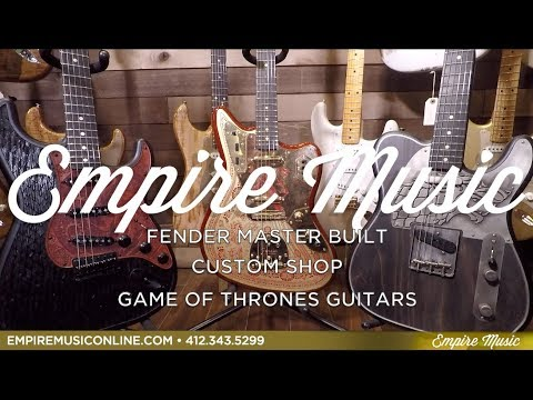 Fender Custom Shop GAME OF THRONES SIGIL COLLECTION - EMPIRE MUSIC