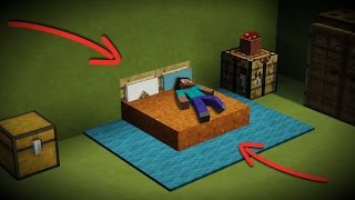 Download Lagu How to make a NEW Minecraft Bed Design! [Sleep, Lay down, DECORATE!] Mp3