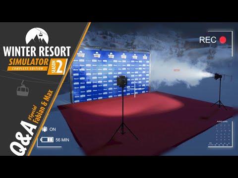 Winter Resort Simulator: Season 2 | Q & A | Special Dual POV