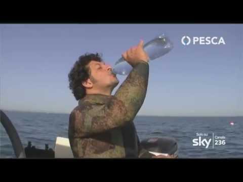 Pesca TV Sky 236 - PESCA IN APNEA: LA CORRETTA ALIMENTAZIONE - Fabrizio D'Agnano