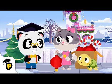 Lovely Lanterns | 🎄 CHRISTMAS SPECIAL 🎄 | Kids Learning Cartoon | Dr. Panda TotoTime Season 4