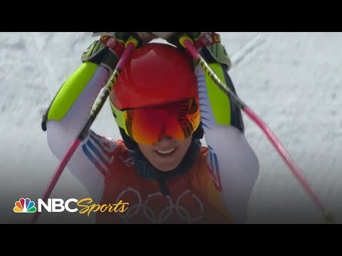 Mikaela Shiffrin wins giant slalom gold medal (FULL RUN)