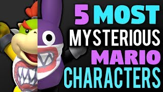 Video 5 Most Mysterious Mario Characters MP3, 3GP, MP4, WEBM, AVI, FLV Juli 2019