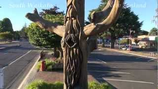Tokoroa New Zealand  city images : Giant Talking Poles, Tokoroa New Zealand.