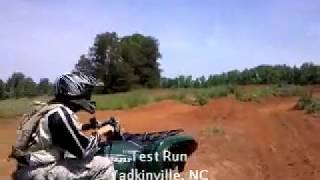 9. First ride on my new (to me) 2008 Yamaha Grizzly 700