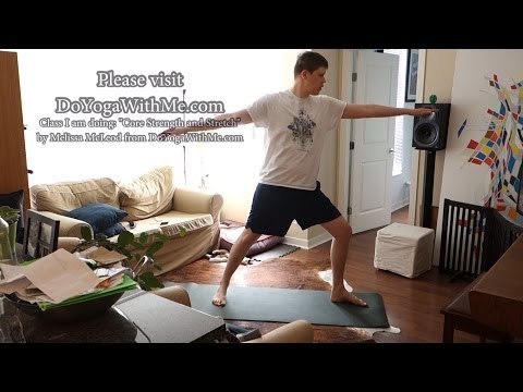 Geoffmobile does Yoga at home! – 1 hour yoga session March 29 2014