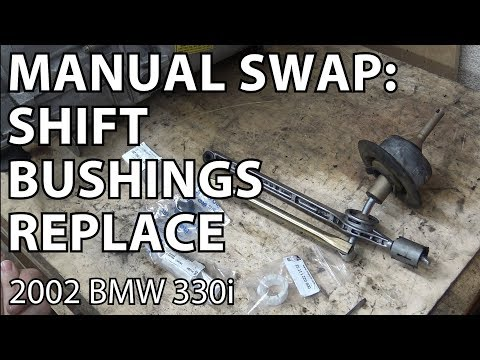 BMW E46 Manual Swap Project - Shift Bushing Replacement