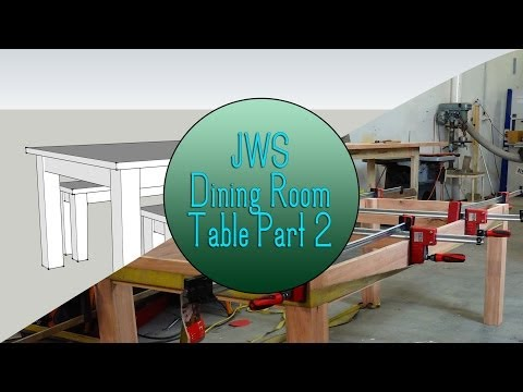 dining - For the first project of 2014 on JordsWoodShop we will be making a simple yet beautiful dining room table with matching bench seats. In this video we make a ...