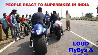 Mysore India  city pictures gallery : Superbike Reactions In INDIA - Mysore