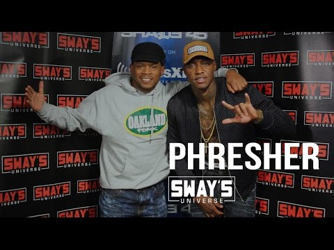 Phresher Freestyle and Interview on Sway in Morning