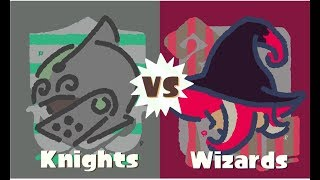 GO TEAM WIZARDS! (Splatoon 2 Knights vs Wizards Splatfest) by SkulShurtugalTCG