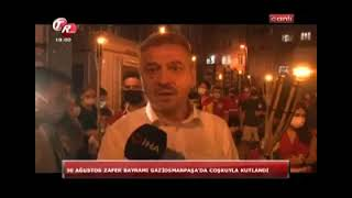 Gaziosmanpaşa'da 30 Ağustos Coşkusu - Tek Rumeli Tv